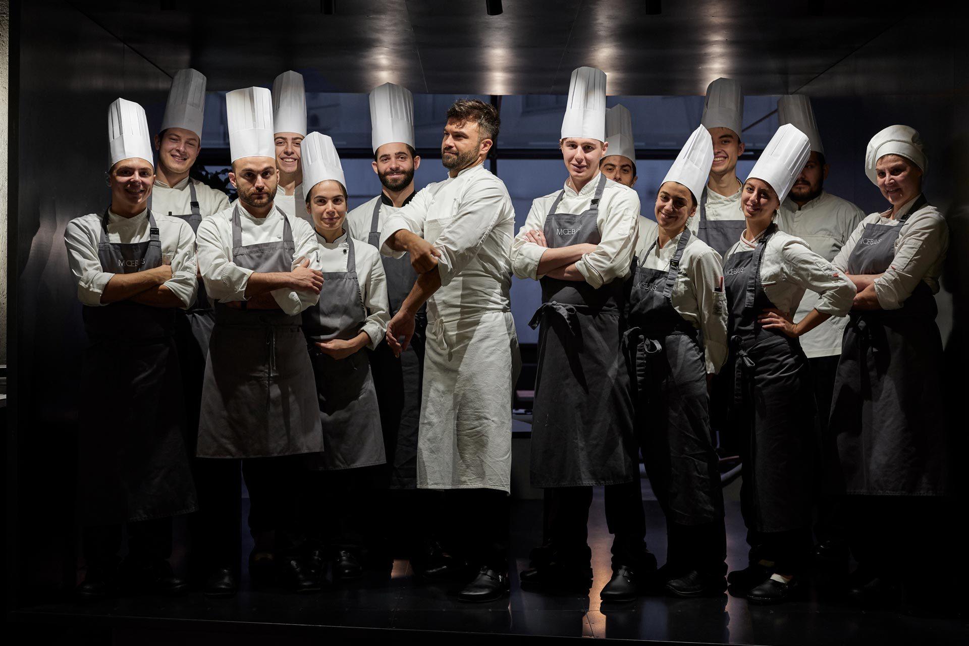 Brigata Cucina Moebius Milano